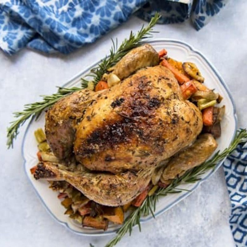 Roasted Herbs & Butter Whole Chicken (Whole)