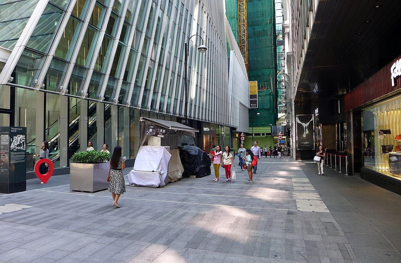 E. China Building – close to Theatre Lane